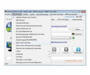 aTube Catcher en Windows 7